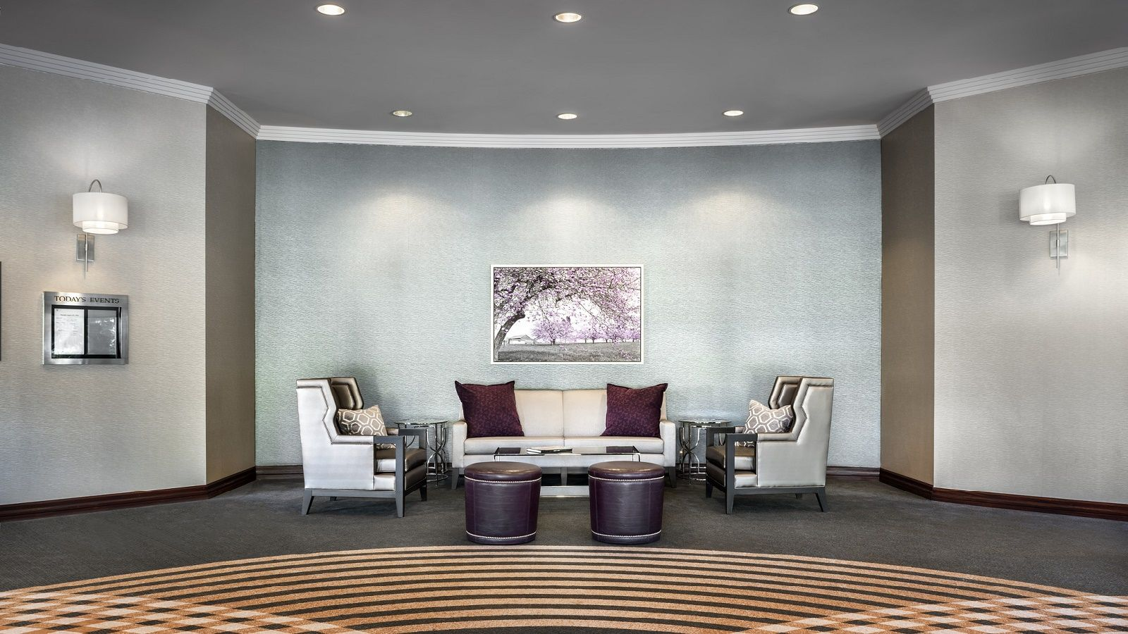 Event Venues Toronto - Toronto Airport Meetings Common Foyer Area - Entrance