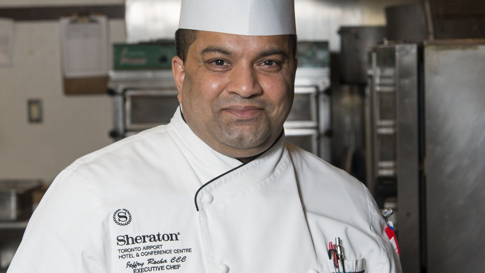 Chef Jeffry Rocha | Sheraton Toronto Airport & Conference Centre